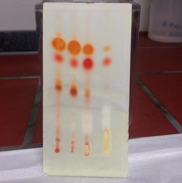 Cannabis test lab TLC
